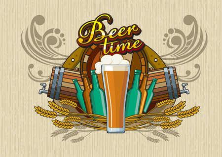 flowed: Beer theme for bar or Pub menu