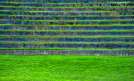 Amphitheatre outdoor seating