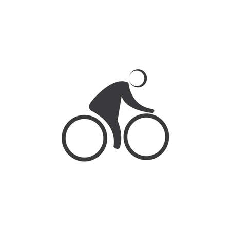 Bicycle vector template Illustration