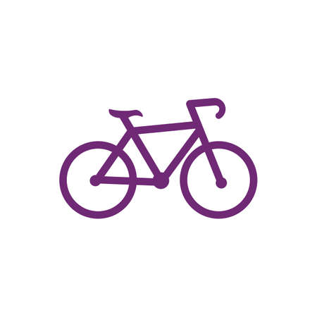 Bicycle  vector template