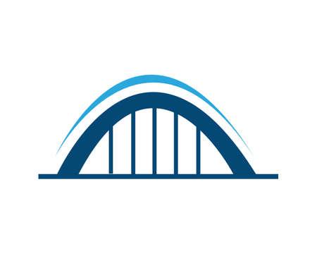 Bridge Template vector icon illustration design Векторная Иллюстрация