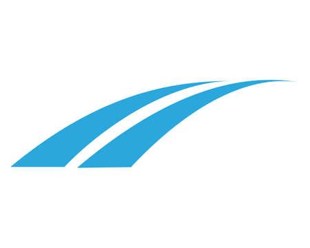 Bridge Template vector icon illustration design