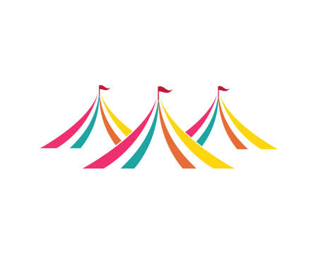 Circus vector illustration design emblems template