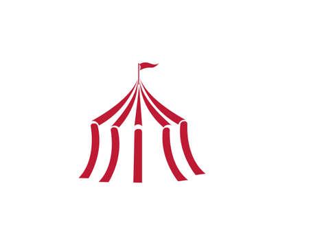 Circus vector illustration design emblems template