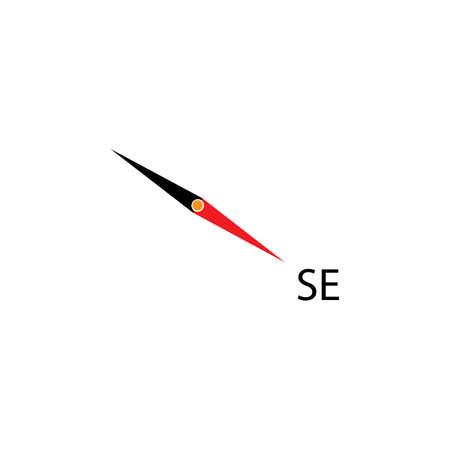 Compass Template vector icon illustration design