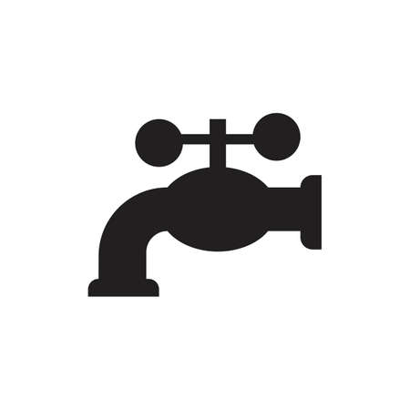 Faucets icons,Water tap icon. Vector illustration design Banque d'images - 134130358