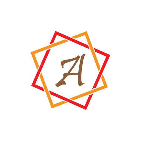 Letter A Logo Template vector icon design