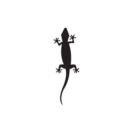 Lizard vector icon logo and symbols template - Vector Archivio Fotografico - 134370530