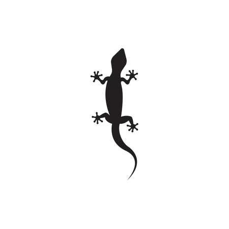 Lizard vector icon logo and symbols template - Vector Archivio Fotografico - 134370640