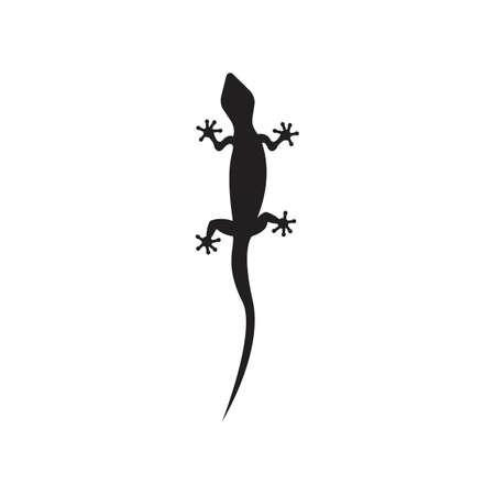 Lizard vector icon logo and symbols template - Vector Archivio Fotografico - 134370649