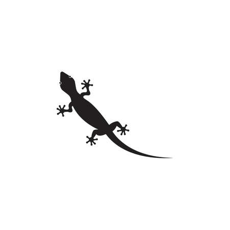 Lizard vector icon logo and symbols template - Vector Archivio Fotografico - 134370650