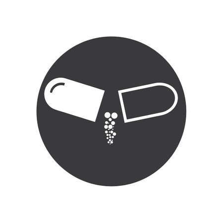 Medical Drug Vector icon Illustration design template
