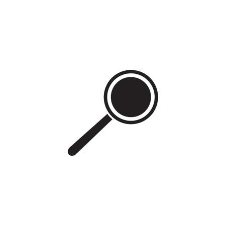 Magnifying glass icon vector illustration - vector