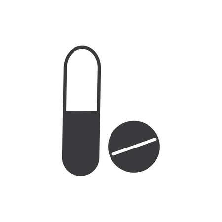 Medical Drug Vector icon Illustration design template