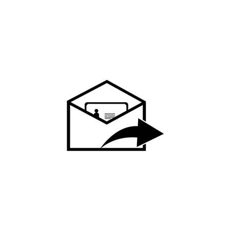 mail, message, communication icon vector