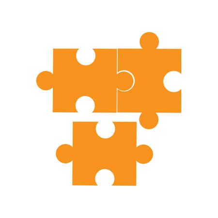 Jeu Puzzle vecteur icône Design Illustration