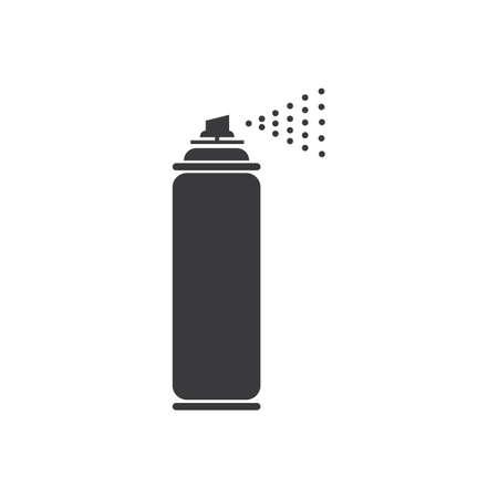 spray paint vector illustration icon Logo Template design