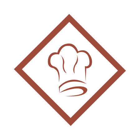 hat chef logo template vector illustration and symbol vector template Stock Illustratie