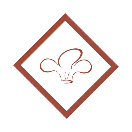 hat chef logo template vector illustration and symbol vector template