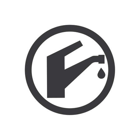 Faucets icons,Water tap icon. Vector illustration design Banque d'images - 135862121