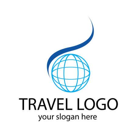 Travel logo vector icon design template-vector Logo