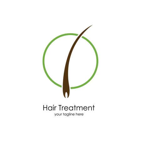 Hair treatments vector icon Illustration design template. Archivio Fotografico - 137251651