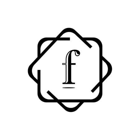 F Letter vector icon illustration design
