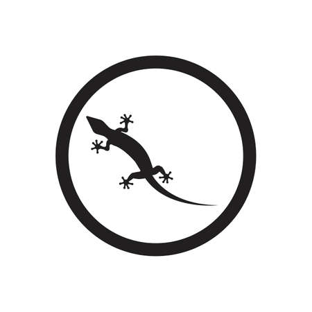 Lizard vector icon logo and symbols template - Vector 向量圖像