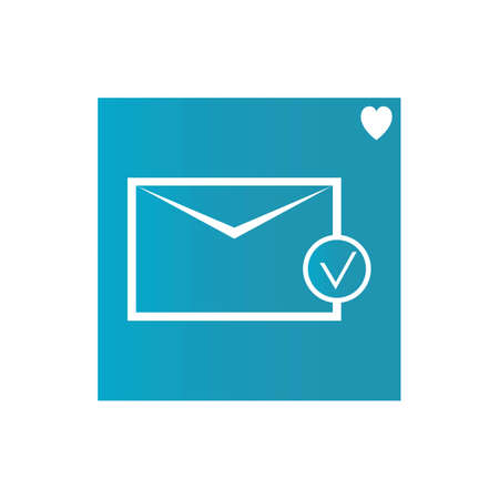 mail, message, communication icon vector Email icon vector, Envelope sign, Mail symbol