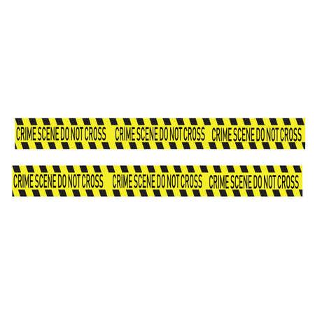 Black and yellow police stripe Vector illustration design Foto de archivo - 138340706