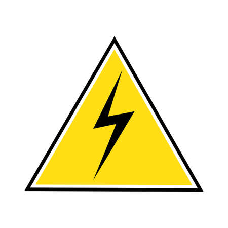 Thunder and Bolt Lightning Flash Icon Stok Fotoğraf - 138438144