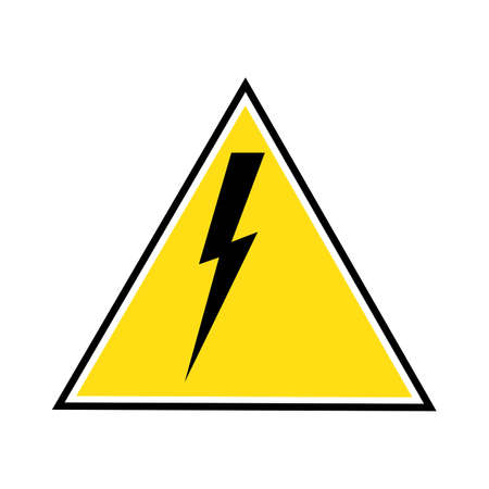 Thunder and Bolt Lightning Flash Icon Stok Fotoğraf - 138438188
