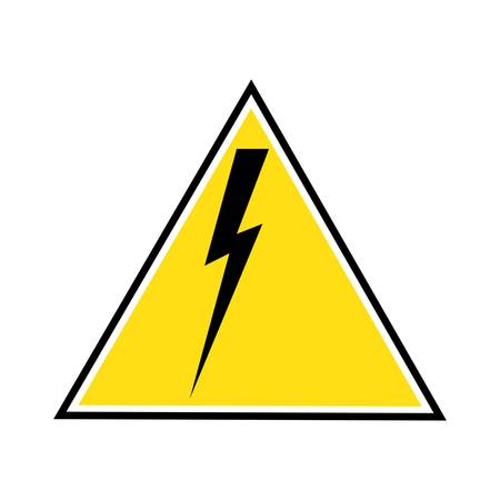 Thunder and Bolt Lightning Flash Icon Stok Fotoğraf - 138438275