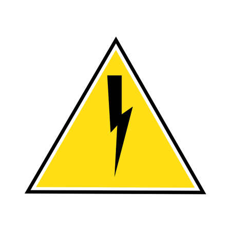 Thunder and Bolt Lightning Flash Icon Stok Fotoğraf - 138438280