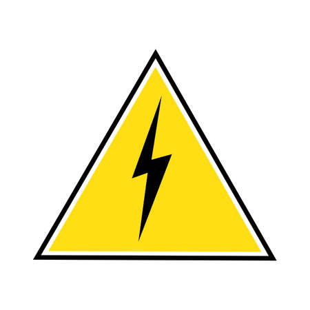 Thunder and Bolt Lightning Flash Icon Stok Fotoğraf - 138438288
