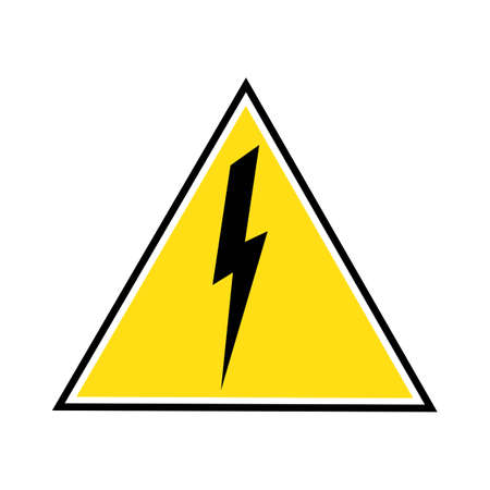 Thunder and Bolt Lightning Flash Icon Stok Fotoğraf - 138438633