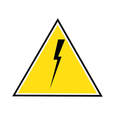 Thunder and Bolt Lightning Flash Icon Stok Fotoğraf - 138438641