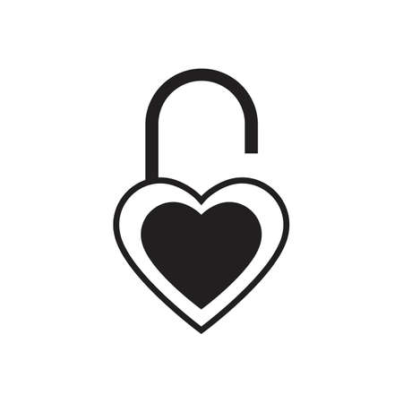 lock icon vector illustration design template