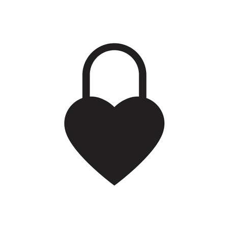 Lock icon  イラスト・ベクター素材