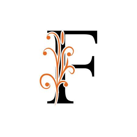 F Letter vector icon illustration design