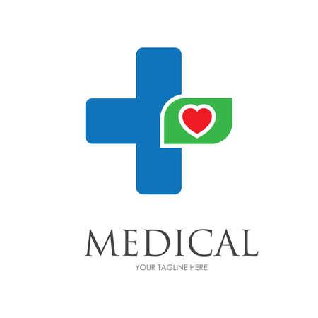 Health Medical Logo template vector illustration design