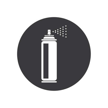 spray paint  vector illustration icon Logo Template design