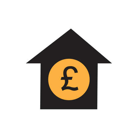 pound money vector icon illustration design template - vector