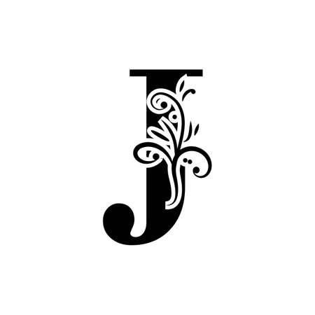 Letter J Logo Template vector icon design Logó
