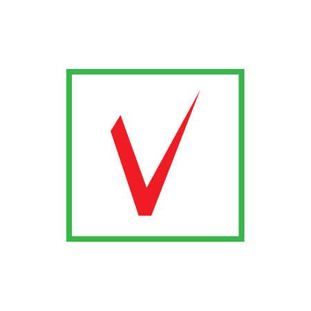 check mark icon vector illustration design template Иллюстрация