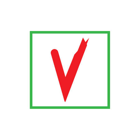check mark icon vector illustration design template Фото со стока - 140609167