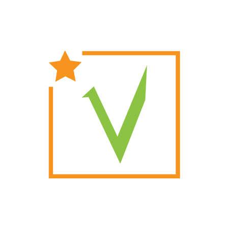 check mark icon vector illustration design template Фото со стока - 140632809