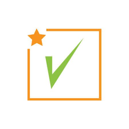 check mark icon vector illustration design template Фото со стока - 140632844