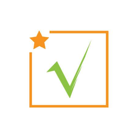 check mark icon vector illustration design template Фото со стока - 140633047
