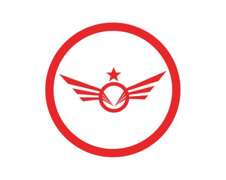 Wing Logo Template - Vector